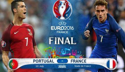 fotbal Portugalia-Franta
