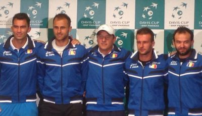 lotul Cupa Davis Romania Cluj 2016