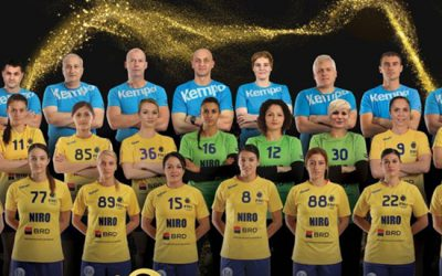 poza oficiala nationala handbal la JO