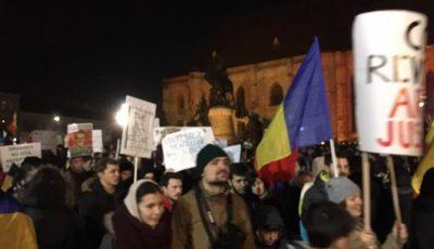 a 5-a zi de proteste la Cluj