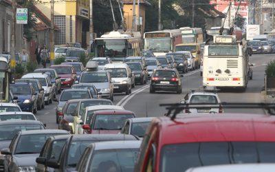 trafic in Cluj
