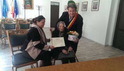 cea mai longevivă femeie din Satu Mare