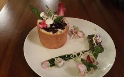 ghiveci de flori comestibil
