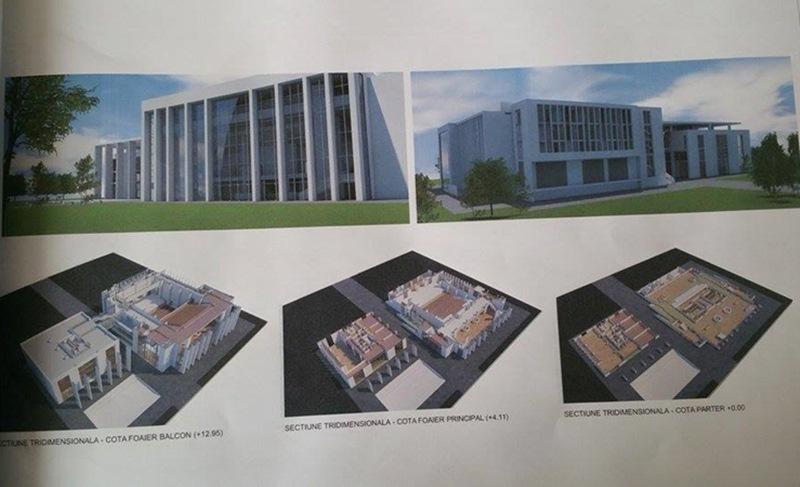 proiect centru cultural Floresti