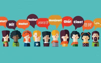 oameni vorbesc limbi straine