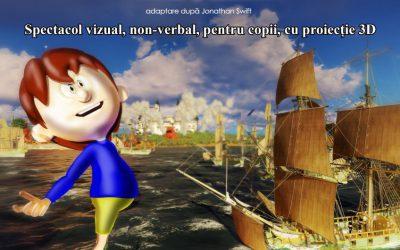 Spectacol Gulliver la Carei