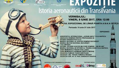 afis - expo Istoria aeronauticii din Transilvania