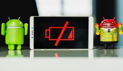 baterie consumata telefon