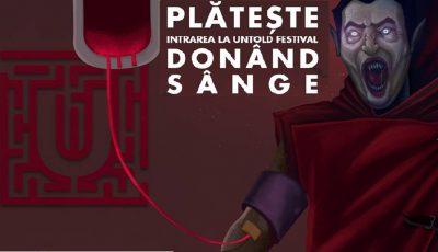 doneaza sange la Untold
