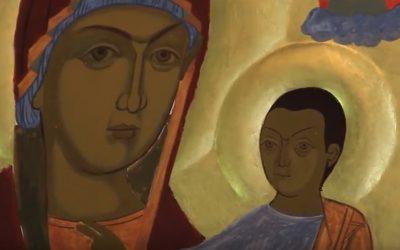 Pictarea Icoanei Maicii Domnului de la Nicula