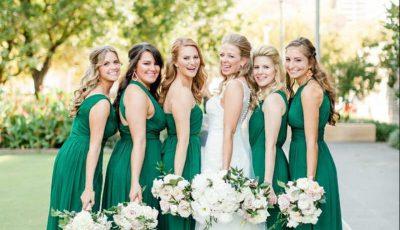 mirese rochii verde