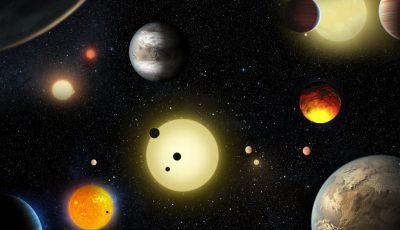 zece plante sistem solar
