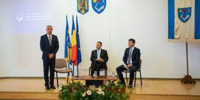 1 Reuniune la Sf.Gheorghe cu presedintele Klaus Johannis