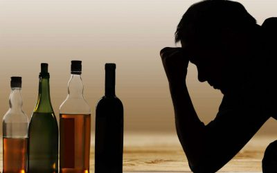 alcoolism sticle bautura