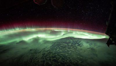 aurora boreala spatiu