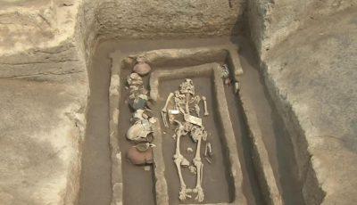 Uriaşi îngropaţi în China