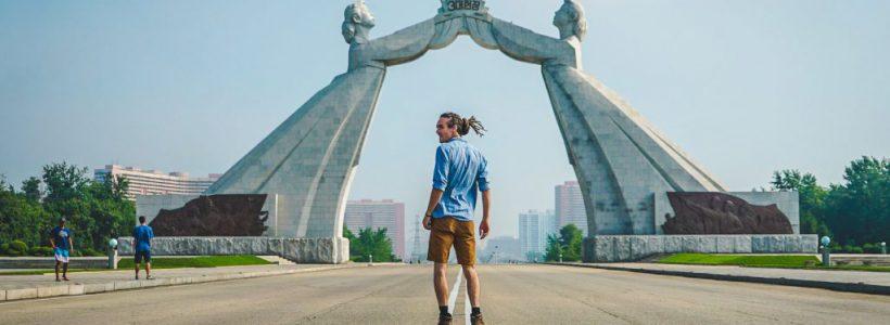 coreea de nord turist