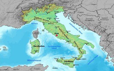 harta italiei