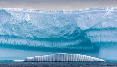 iceberg rupt calota glaciara