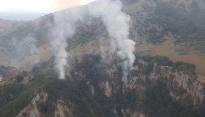 incendiu padure munte