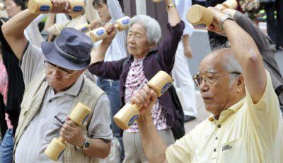 japonezi gimnstica batrani