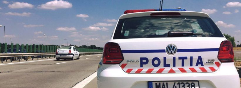 masina politie autostrada