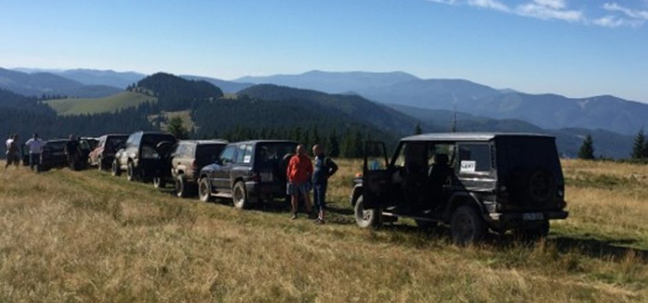 off road cu CERT Transilvania