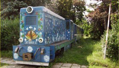 tren parcul feroviarilor