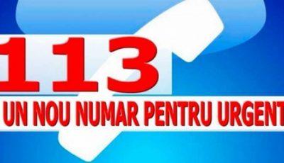 113 serviciu de urgente