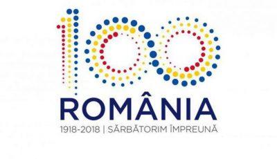 logo pentru Centenarul Marii Uniri