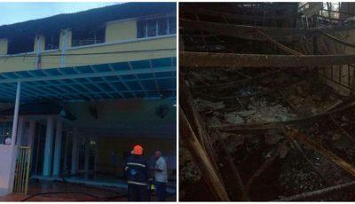 Incendiu la o şcoală din Malaysia