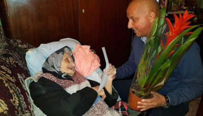 premiata Maria Balint 103 ani