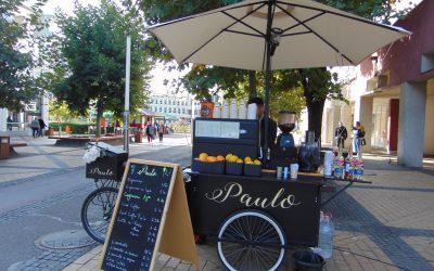 Bicicleta cu cafea