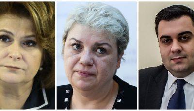 Rovana Plumb, Sevil Shhaideh si Razvan Cuc