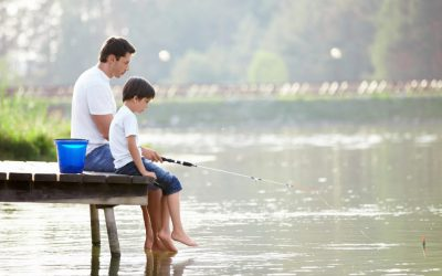 baiat si tata pescari