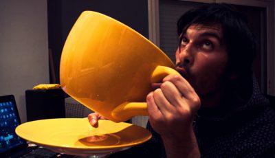 dependenta de cafea