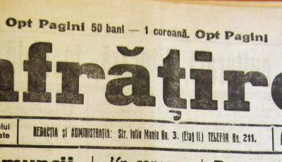 ziar vechi infratirea