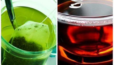 ceai negru, ceai verde