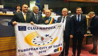 cluj capitala europeana a sportului