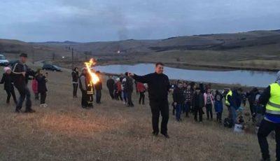 primarul Dorin Nistor la Traditia Opaitelor Sebes